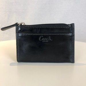 FREE WITH PURCHASE Coach Black Coin Purse